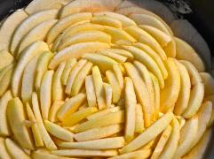 Äpfel schichten