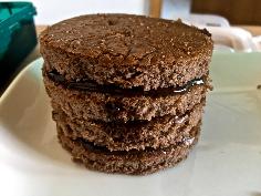 3-4 Schichten Kuchen stapeln