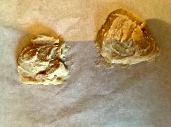 Nutella oder Macadamia Creme einfrieren