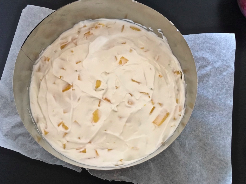 Mango-Frischkäsecreme zubereiten