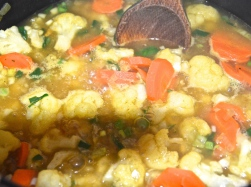 Gemüse weich kochen