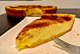 Rahmkuchen mit Zimt und Zucker Kruste