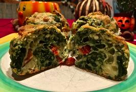 Spinat-Feta-Muffins