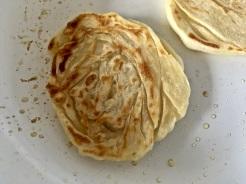 Roti Pratha anbraten