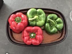 Paprika einfüllen