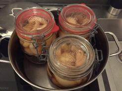 Weckgläser 30 Minuten einkochen