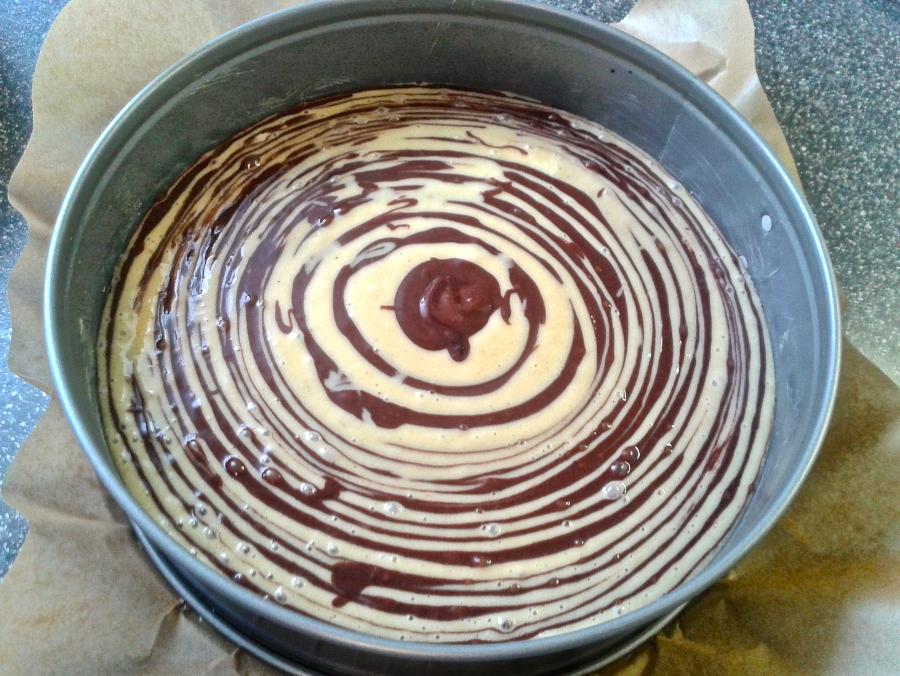 Omas Rezeptewelt Zebrakuchen