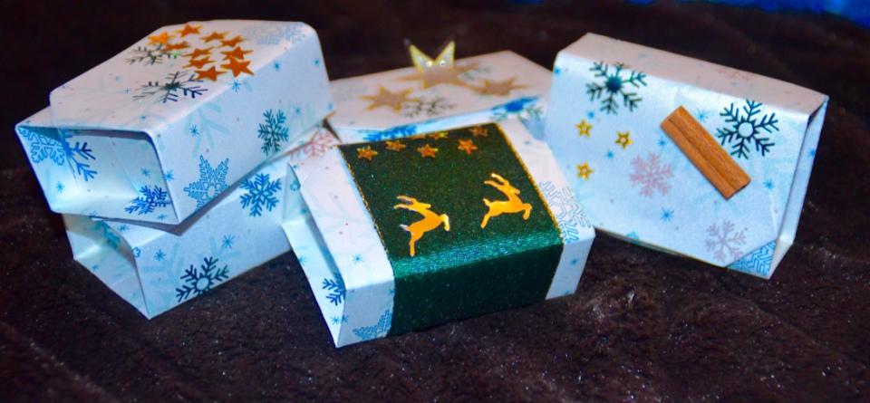 Überraschungs-Adventskalender aus Teelichtern