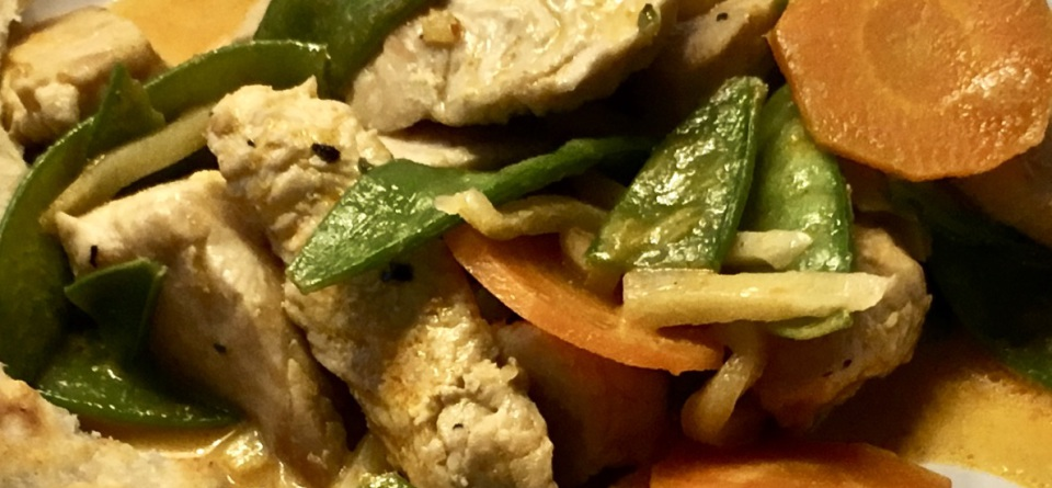 Kokos-Erdnuss-Curry