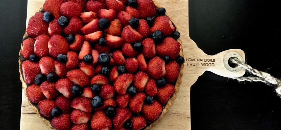 Erdbeer-Schoko-Kuchen
