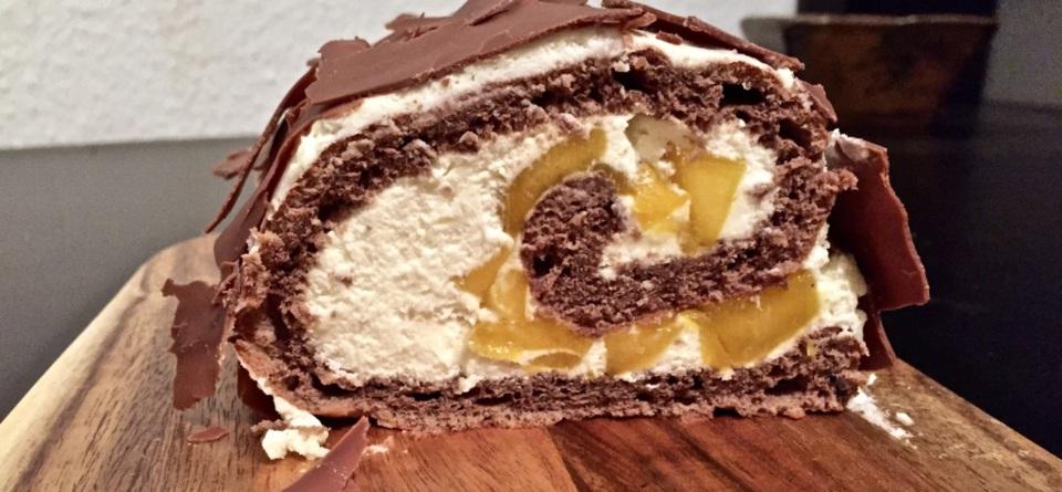 Mango-Kokos-Rolle