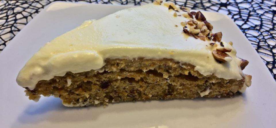 Rübli-Kuchen mit Frischkäse-Guß