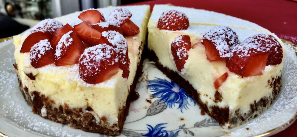 Skyr-Cheesecake