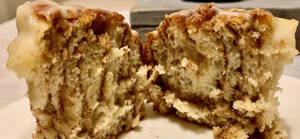 Zimtschnecken mit Frischkäseguss - Cinnamon Rolls